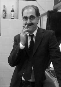 Me as the real Groucho Marx
